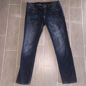 Vigoss Distressed Straight Leg Jeans  Size 31x31